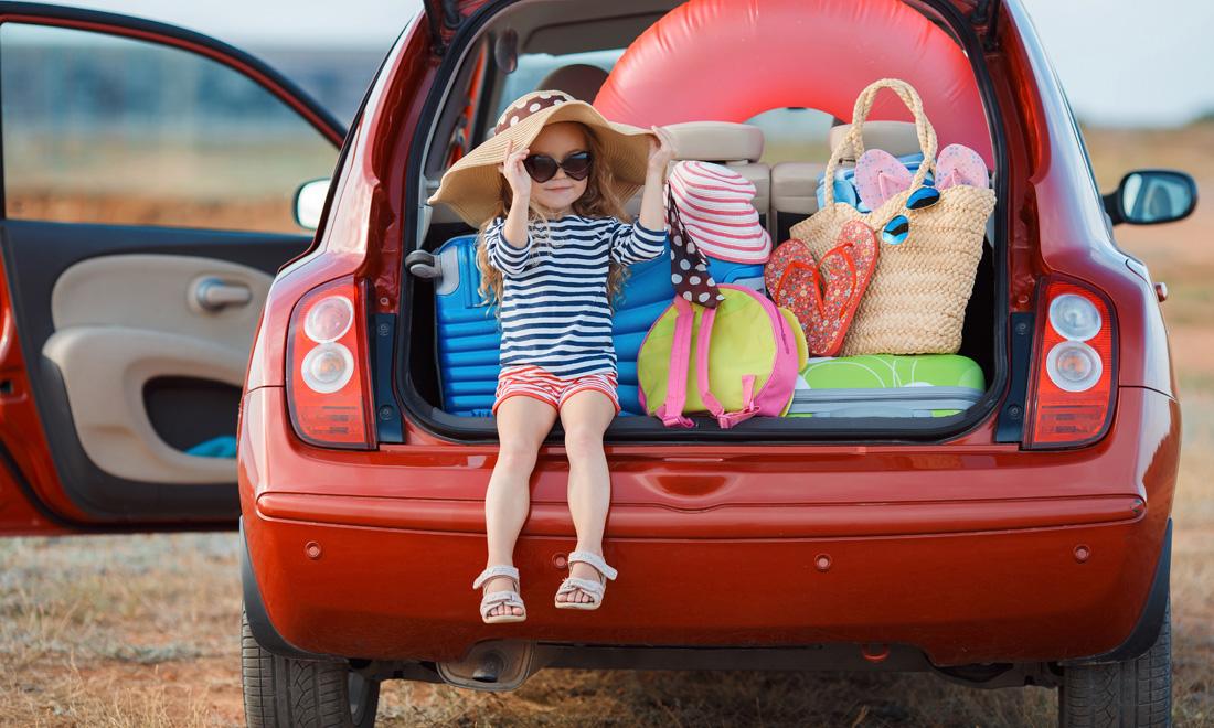 consejos para viajar en coche con niños en verano - teteducation