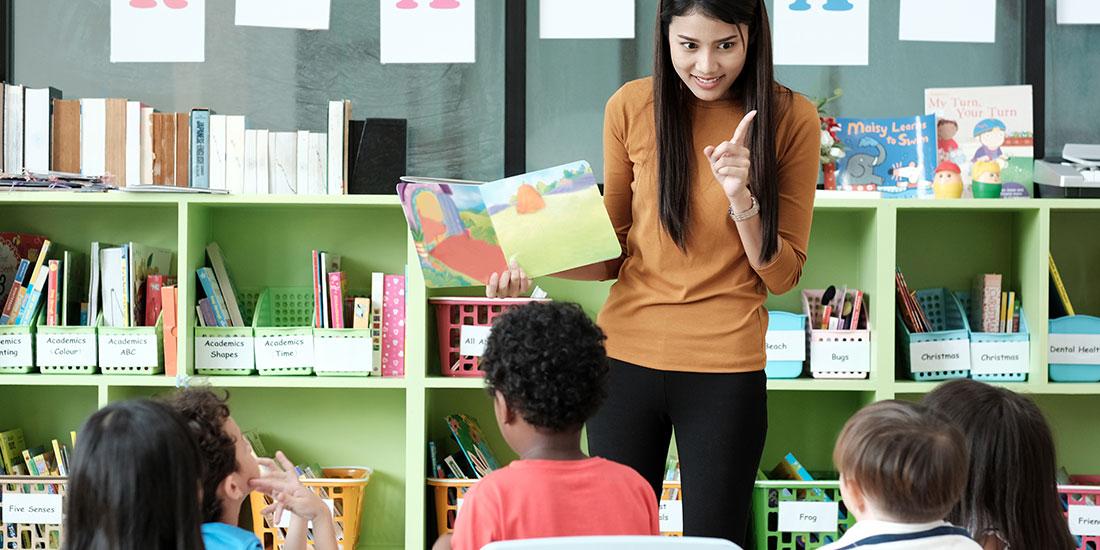 como dar clases de ingles a niños - tet education